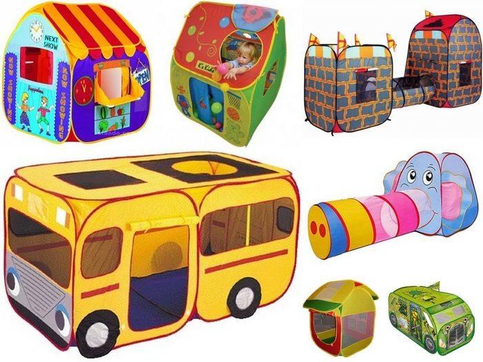 Палатки-домики