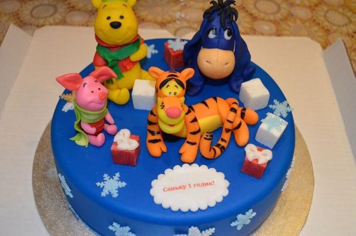 Торт Винни и его друзья