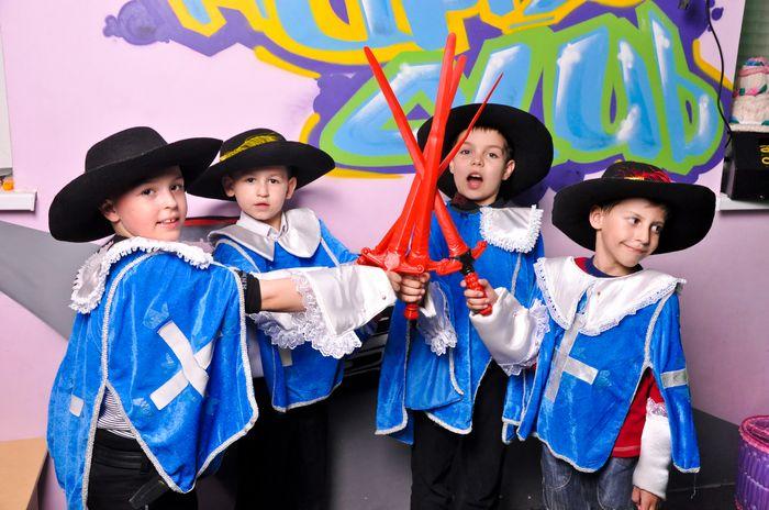 Юные мушкетеры