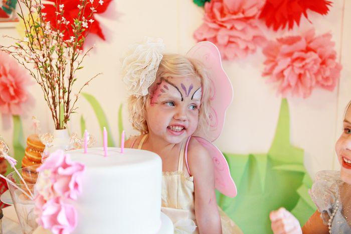 Праздничный торт для девочки