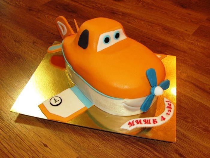 Торт-самолет