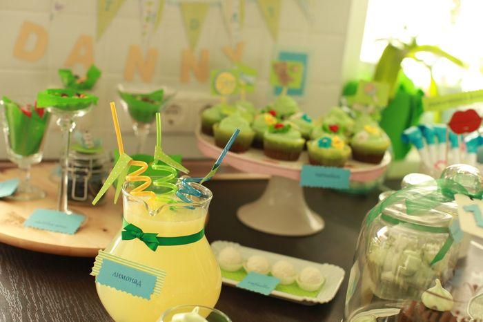 Угощение на детский день рождения