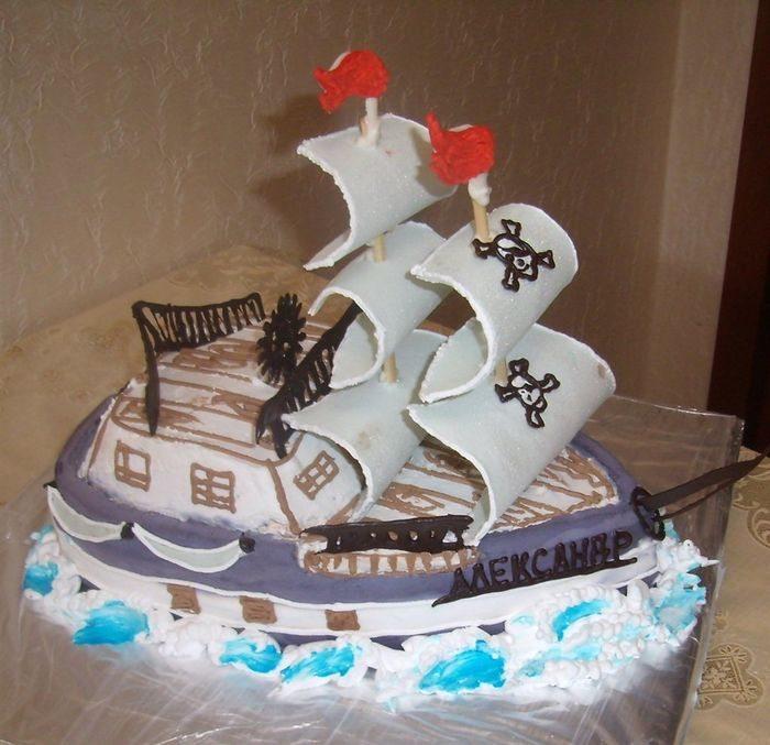 Торт-фрегат