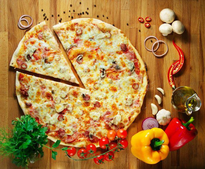 Пицца ко дню рождения
