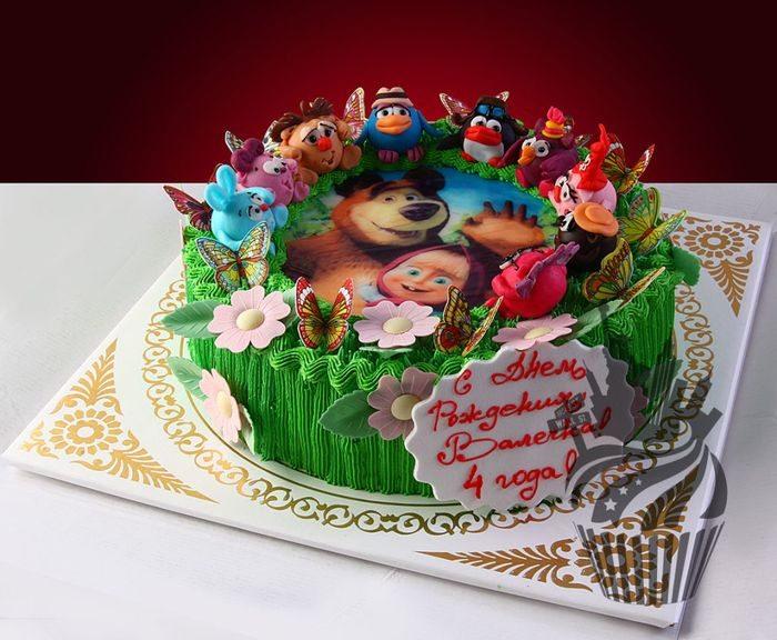 Торт любимые герои из мультиков