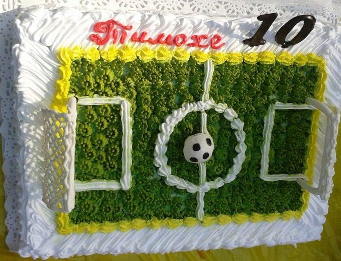 Торт-футбол