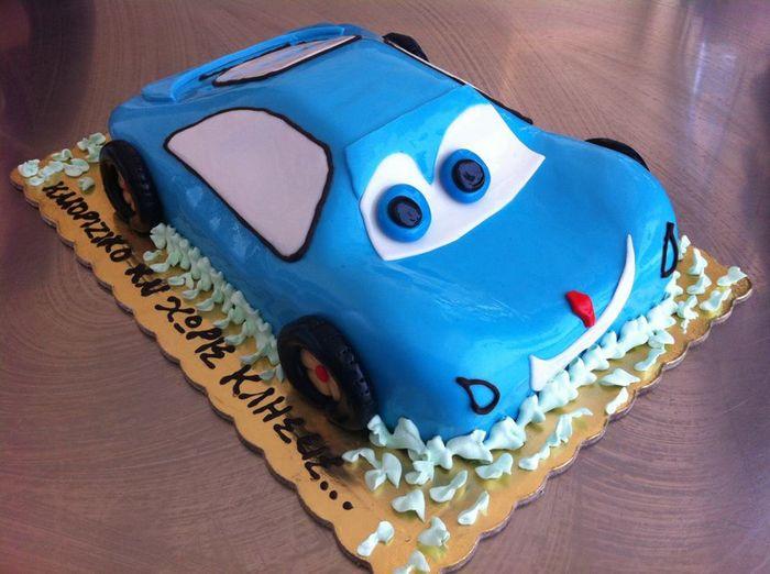 Торт-автомобиль