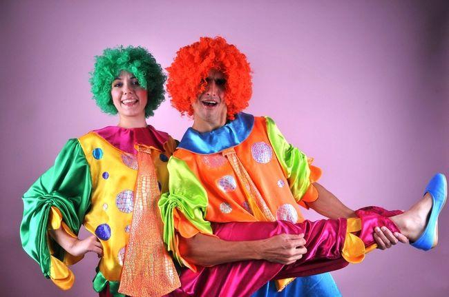 Весёлые клоуны