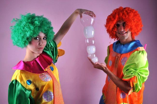 Клоуны творят чудеса