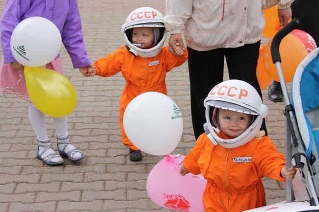 Дети-космонавты