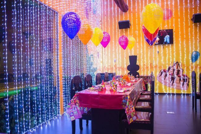 Ресторан для детского дня рождения