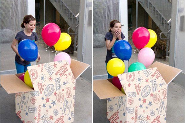 Сюрприз сыну на день рождения