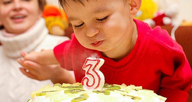 Сценарий для третьего дня рождения ребенка