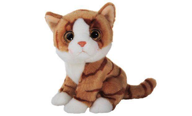 Плюшевый кот