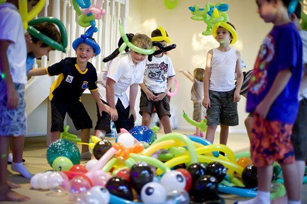 Конкурсы с воздушными шариками