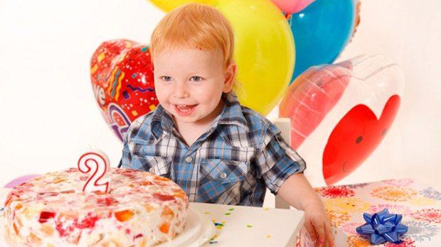 День рождения два года