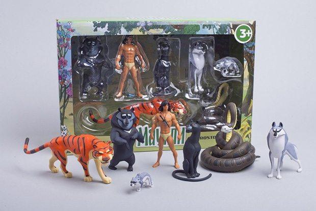 Набор игрушек Маугли
