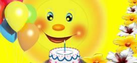 Футаж для поздравления ребенка с днем рождения