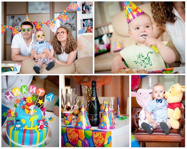 Коллаж Первого дня рождения