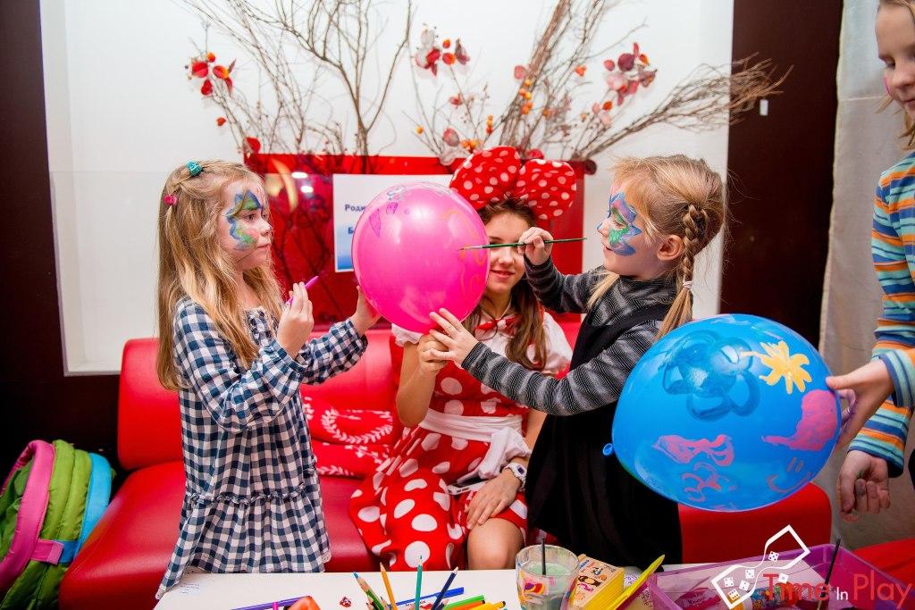 Детский день рождения в антикафе