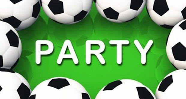 День рождения подростка в стиле футбольной вечеринки
