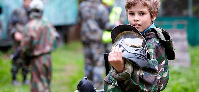 Пейнтбольные клубы Екатеринбурга для детских праздников