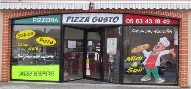пицца густо