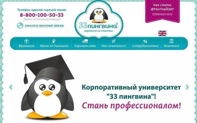 Семейное кафе 33 пингвина