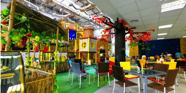 Детские клубы и кафе города Мытищи