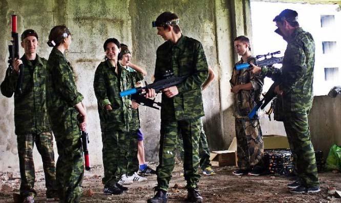Спортивно-тактический лазертаг клуб Арена