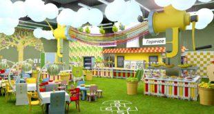 Кафе города Ангарск для детского веселья