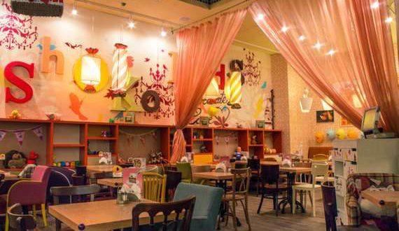 Кафе города Нефтекамск для празднования детского дня рождения