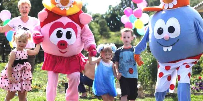 Аниматоры и клоуны на детский день рождения в Краснодаре