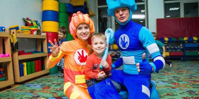 Аниматоры и клоуны на детский день рождения в Новосибирске