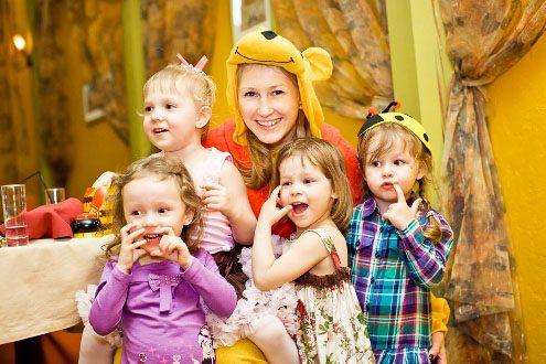 Аниматоры и клоуны на детский день рождения в Уфе