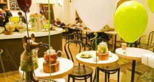 Кафе города Рубцовск отмечаем детское день рождения