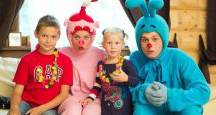 Аниматоры и клоуны на детский день рождения в Магнитогорске
