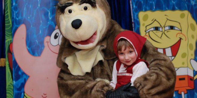 Аниматоры и клоуны на детский день рождения в Ставрополе