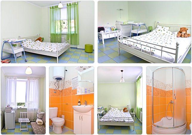 В частных роддомах в палатах уютная, домашняя обстановка