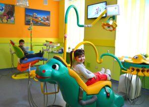 Интерьер детской стоматологии