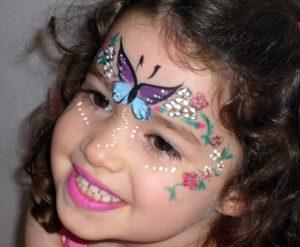 Маскарадный макияж для девочки
