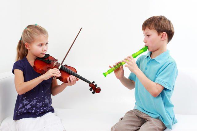 Уроки музыки помогут детям быть более усидчивыми