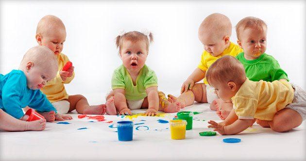 Ясли - самая младшая группа в детском садике