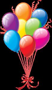 Воздушные шары для украшения на выпускном