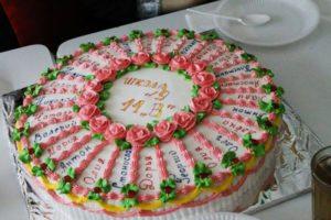 Оригинальный торт для выпускников