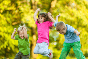 Для четвероклассников подойдут подвижные игры