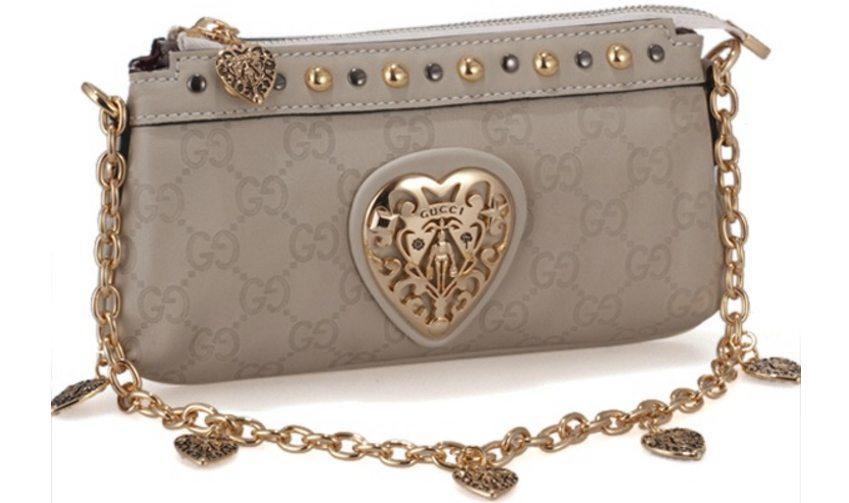 Кожаный клатч от Gucci