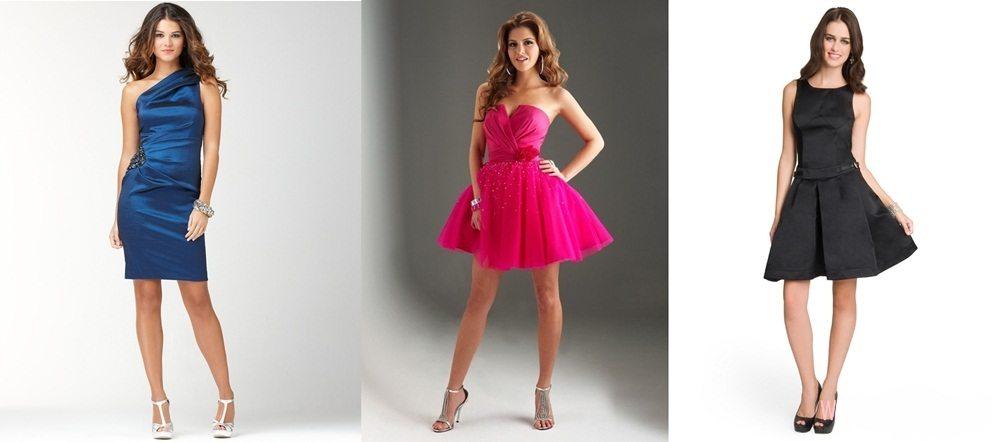 Коктейльные платья средней длины