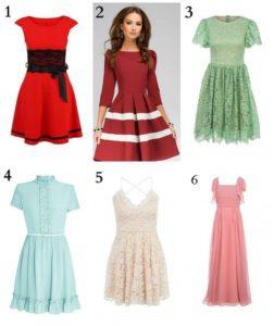 Модель платья лучше продумать заранее
