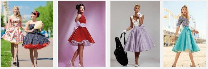 Особенность платья - многослойная пышная юбка и тонкая талия